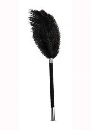 Noir Soft Feather Tickler – Black