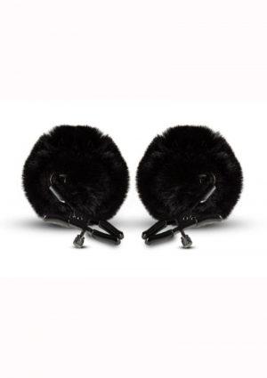 Noir Pom Adjustable Nipple Clamps – Black