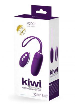 Kiwi Recharge Insertable Bullet Purple