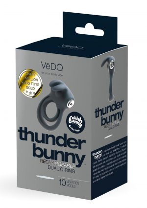 Thunder Bunny Recharge Dual Ring Black
