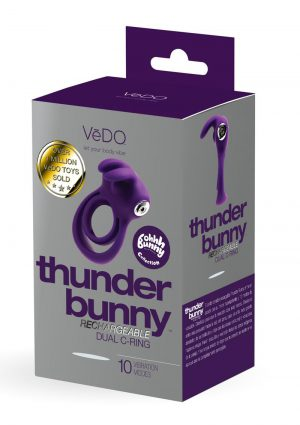Thunder Bunny Recharge Dual Ring Purple