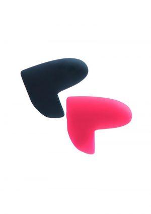 Ayu Mini Finger Vibe Pair Black/pink