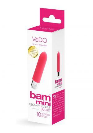 Bam Mini  bullet Vibe Foxy Pink