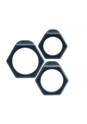 Bolt C Ring Set Just Black