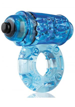 O Wow Vibrating Ring – Blue