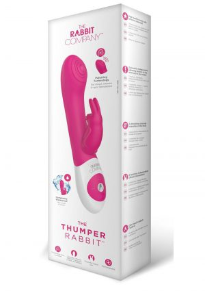 Rabbit Company The Thumper Rabbit Rechargeable Silicone Vibrator - Pink