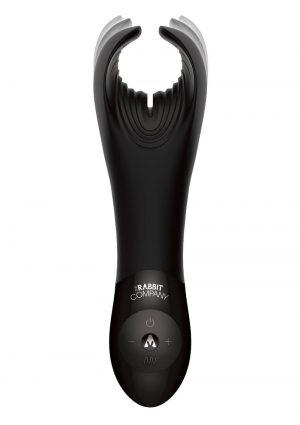 Rabbit Company The BJ Rabbit Rechargeable Silicone Vibrator – Black