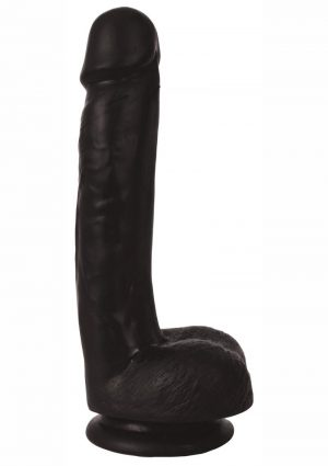 Thinz Slim Dong With Balls 7in – Black