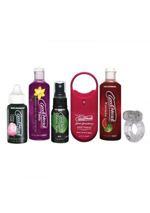 Goodhead Sensations Kit Flavored Oral Enhancers (6 Per Pack) – Assorted