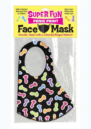 Super Fun Penis Mask - Multicolor