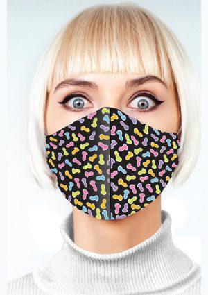 Super Fun Penis Mask – Multicolor