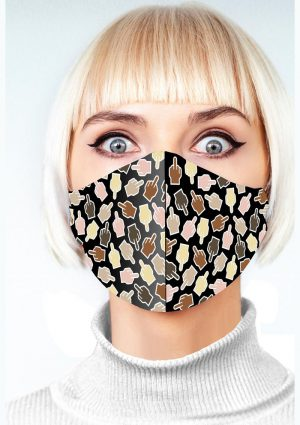 Super Fun F U Finger Mask – Animal Print
