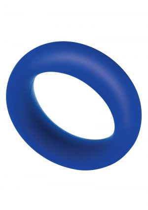 Zolo Extra Thick Silicone Cock Ring – Navy