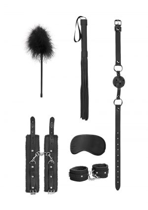 Ouch! Kits Beginners Bondage Kit 6pc – Black