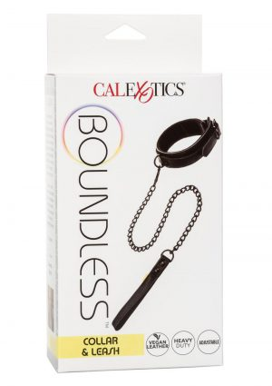 Boundless Collar andamp; Leash - Black