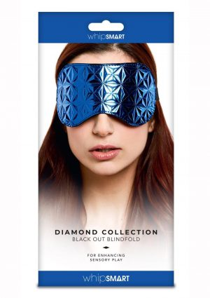 Whipsmart Black Out Blindfold - Blue