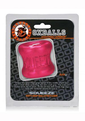 Oxballs Squeeze Soft Grip Ball Stretcher - Pink