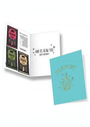 Kama Sutra Naughty Notes You Blow This Greeting Card