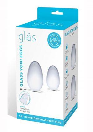 Glas Yoni Eggs - Clear