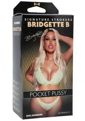 Signature Strokers Bridgette B Ultraskyn Pocket Masturbator - Pussy - Vanilla