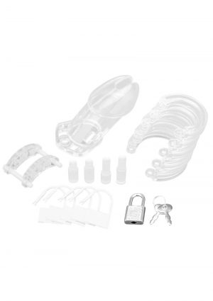 Acrylic See-thru Chastity Cage