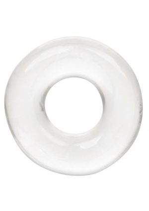 Foil Pack XL Cock Ring - Clear