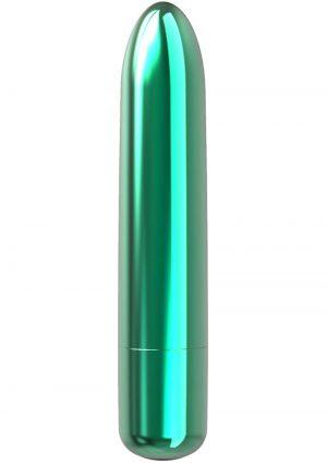 PowerBullet Bullet Point Rechargeable Vibrator – Teal