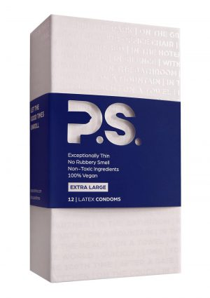P.S. Extra Large Latex Condoms (12 pack)