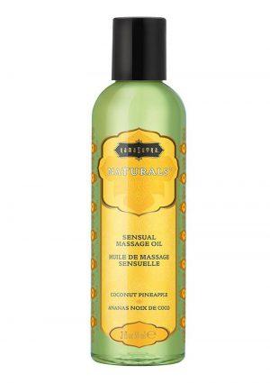 Naturals Massage Oil Coconut-pineap 2oz