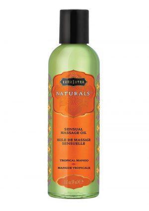 Naturals Massage Oil Tropical Mango 2oz
