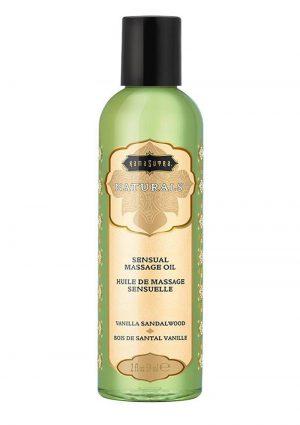 Naturals Massage Oil Vanilla Sandal 2oz
