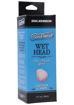 GoodHead Wet Head Dry Mouth Spray Cotton Candy 2oz