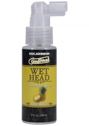 GoodHead Wet Head Dry Mouth Spray Pineapple 2oz