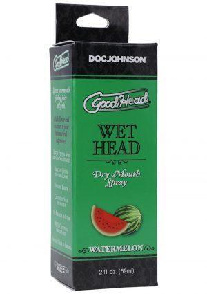GoodHead Wet Head Dry Mouth Spray Watermelon 2oz