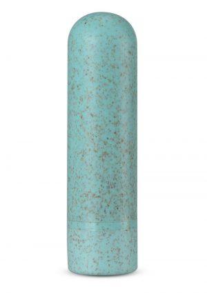 Gaia Eco Rechargeable Bullet Vibrator – Aqua
