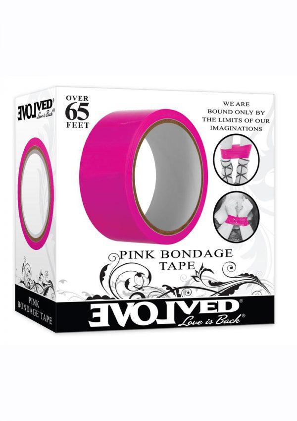Bondage Tape 65ft - Pink
