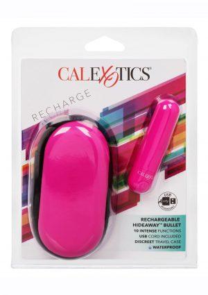 Rechargeable Hideaway Bullet Vibrator - Pink