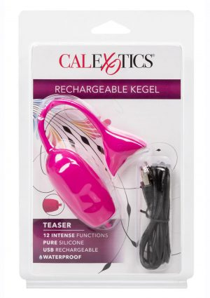 Rechargeable Silicone Kegel Teaser - Pink