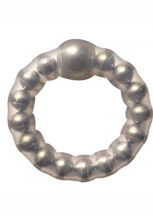 Superball Cockring Silicone – Clear