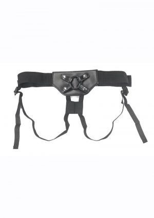 Addiction Strap-On Harness – One Size – Black